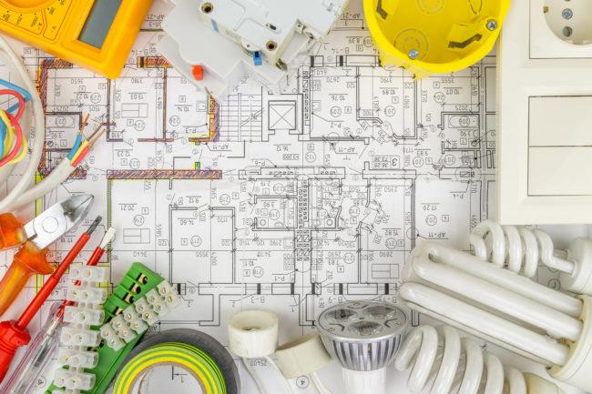 電気工事の設計図「配線図」の簡単な読み方